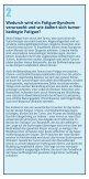 Fatigue - 18 Fragen - Deutsche Fatigue Gesellschaft eV - Seite 5