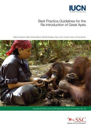 Best Practice Guidelines for the Re-introduction of ... - RarePlanet