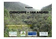 CHINCHIPE – SAN ANDRES - RarePlanet