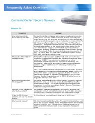 CommandCenter® Secure Gateway - Raritan