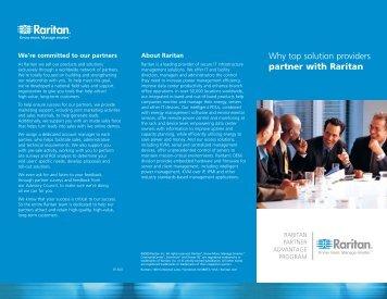 Raritan Partner Advantage Program 2009