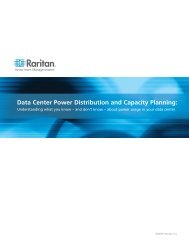 Data Center Power Distribution and Capacity Planning