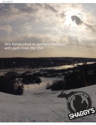 Skis handcrafted in northern Michigan, with parts from the ... - Rasc.ru