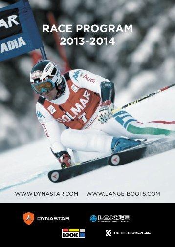 RACE PROGRAM 2013-2014 - Rasc.ru
