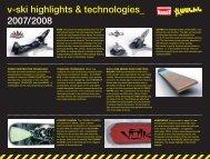 v-ski highlights & technologies_ 2007/2008 ... - Rasc.ru