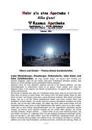 Mehr als eine Apotheke Februar 2013-1 - Rasmus Apotheke
