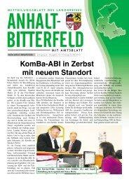 Ausgabe 12 vom 22. Juni 2012 - Landkreis Anhalt-Bitterfeld