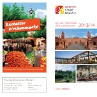 Hotels, Pensionen und Gasthäuser in Rastatt ... - Stadt Rastatt