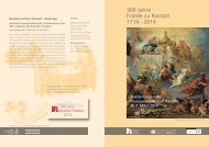 300 Jahre Friede zu Rastatt 1714 - 2014 - Stadt Rastatt