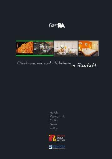 GastRA-Magazin - Stadt Rastatt