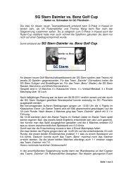 Bericht 2011 - SG Stern Rastatt