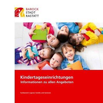 Rastatter Kindertagesstätten - Stadt Rastatt