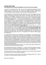 Bericht 2009 - SG Stern Rastatt