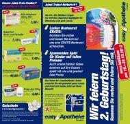 Aktuelle Angebote - easy Apotheke