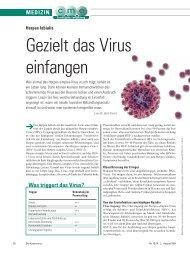 Gezielt das Virus einfangen - ratgeber-fitness.de