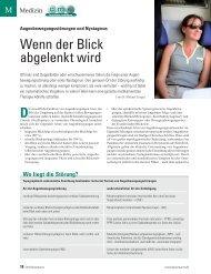 Wenn der Blick abgelenkt wird - ratgeber-fitness.de