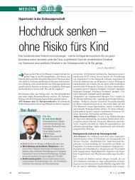 Hochdruck senken – ohne Risiko fürs Kind - ratgeber-fitness.de