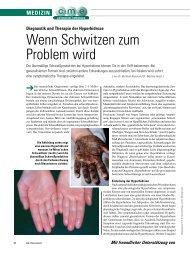 Wenn Schwitzen zum Problem wird - ratgeber-fitness.de