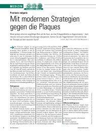 Mit modernen Strategien gegen die Plaques - ratgeber-fitness.de