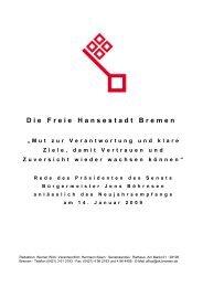 090114_Neujahrsempfang.pdf - Senatskanzlei - Bremen