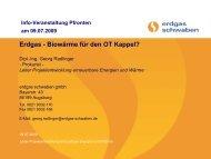 Erdgas - Biowärme für den OT Kappel? - Rathaus Pfronten