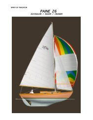 My Yacht Designs - Chuck Paine - New Morning