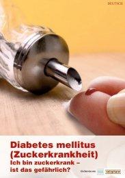 Diabetes mellitus (Zuckerkrankheit) - Ratiopharm