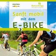 Sanft mobil mit dem E-Bike - Ratschings