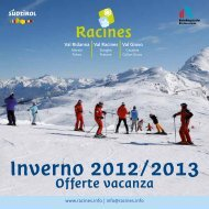 Offerte vacanza inverno 2012/2013 - Ratschings