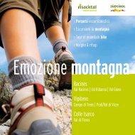 Depliant Emozione Montagna - Ratschings