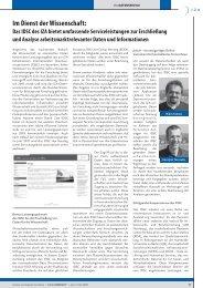 Das IDSC des IZA bietet umfassende Serviceleistungen zur - RatSWD
