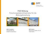 Deutsches Institut für Internationale Pädagogische ... - RatSWD