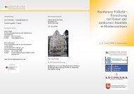 Konferenzprogramm - RatSWD