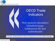Globalisierung im Außenhandel - RatSWD
