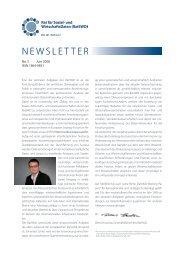 RatSWD Newsletter Nr. 5 - Juni 2008
