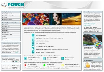 Katalog-Download (PDF) - R. Rauch GmbH