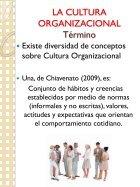 LA CULTURA ORGANIZACIONAL - Page 5
