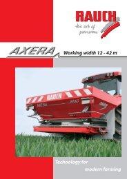AXERA leaflet - Rauch