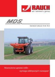 Prospekt MDS - Rauch Landmaschinenfabrik GmbH