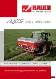 Prospekt AXIS - Rauch Landmaschinenfabrik GmbH