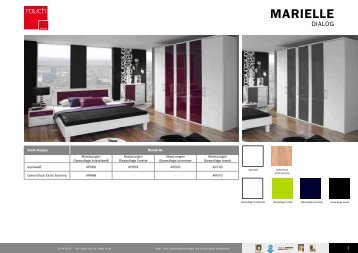 marielle. Black Bedroom Furniture Sets. Home Design Ideas