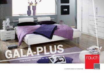 Range of beds ∙ Système de lits ∙ Beddensysteem - Rauch M