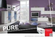 möbel für ausgeschlafene · a clever choice in furniture