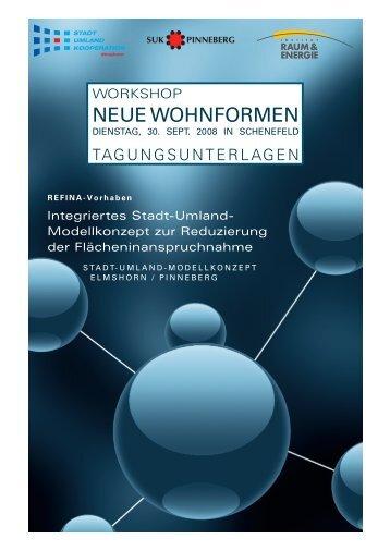 NEUE WOHNFORMEN - Institut Raum & Energie