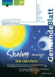 Shalom-Konzert,