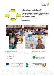 """""""Gemeinsam in die Zukunft"""" Endbericht - Institut Raum & Energie"""