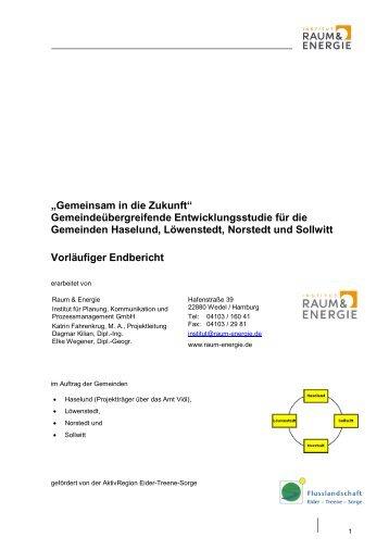 Gemeinsam in die Zukunft - Institut Raum & Energie