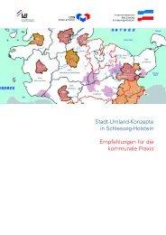 Stadt-Umland-Konzepte in Schleswig-Holstein Empfehlungen für ...