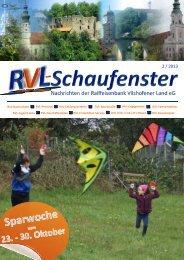 RVL - Nachrichten - Raiffeisenbank Vilshofener Land eG