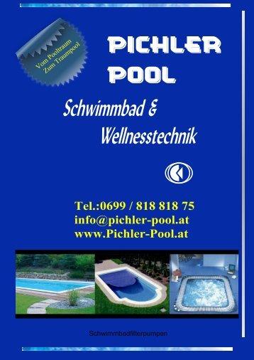 Drehstrom - Pumpen Typ DURAGLAS II, Anschlüsse 2 - Pichler-Pool